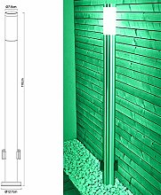 Smart Home RGB LED Edelstahl Steh Leuchte dimmbar