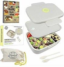 Smart Kitchen 5 Unterteilungen Eco Lunch Box /