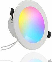 Smart LED Einbaustrahler 10W, Farbwechsel LED