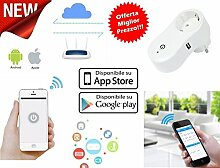 Smart Plug Stecker Strom WiFi Timer Haushaltsgeräte Hausautomation mit iPhone Android