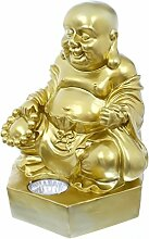 Smart Solar 1030270MO Buddha-Statue