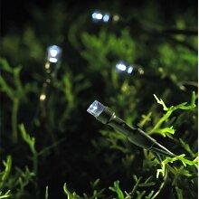 Smart Solar 1060040RB Lichterkette 200 LED, kaltweiß