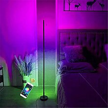 Smart Stehlampe LED 24W Standleuchten, RGB Farbe