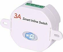 Smart WiFi-Inline-Lichtschalter, der hinter dem