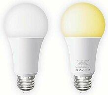 Smart WiFi Lampe E27, Smart LED Glühbirnen