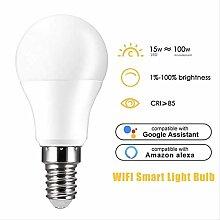 Smart Wifi Light Bulb 15w Voice Control Magic