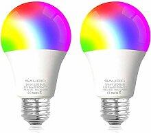 Smart WLAN LED Lampe Glühbirnen Saudio E27 Birne