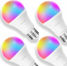 Smart WLAN LED Lampe Glühbirnen TECKIN E27 Birne