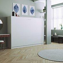 Bett Weiß 140x200 Mit Lattenrost Und Matratze günstig online