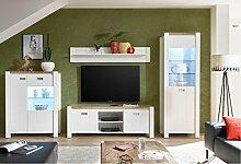 SMARTBett Wohnwand Wohnzimmer Set DEV-01 4-TLG.