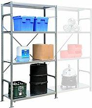 SMARTFACTS Lagerregal aus Metall mit 4 Stahlböden, HxBxT 2000 x 1030 x 300 mm