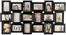 Smartfox Bilderrahmen Fotorahmen Collage für 18