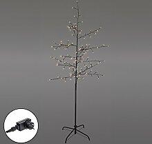 Smartfox LED Lichterbaum 180cm hoch mit 160 LED