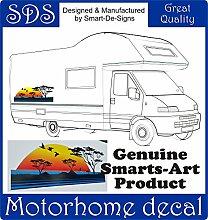 Smarts-Art Wohnmobil Vinyl Graphic Aufkleber