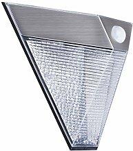 Smartwares 5000.703 Wandleuchte – Solarbetrieben – Bewegungsmelder