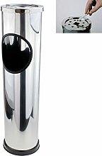 Smartweb 57cm Standaschenbecher mit Mülleimer