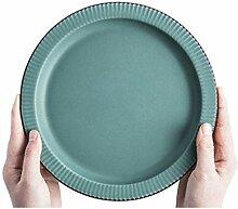 SMC Teller Einfache runde Restaurant Keramik