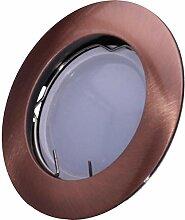 SMD LED Einbaustrahler 230 Volt 4W GU10 Lampe