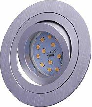 SMD LED Einbaustrahler 230 Volt 7W SMD flach