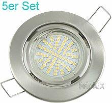 SMD LED Einbaustrahler 5er Sets Einbauleuchten