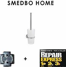 Smedbo Home WC-Bürste mit mattem Glas HS 333 OHNE