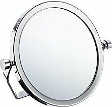 Smedbo OUTLINE Kosmetikspiegel 5-fach Messing