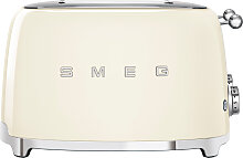 Smeg 4 Schlitz Toaster TSF03CREU - Creme