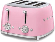 Smeg - 4x4 Toaster Rosa Serie 50 Jahre