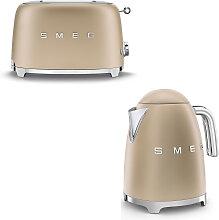 Smeg - Set Wasserkocher und Toaster - matt -
