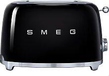 SMEG Toaster Schwarz für 2 Scheiben