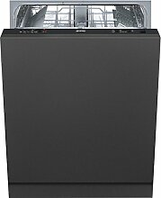 Smeg vollständig integriertes st522213places A + + Spülmaschine–Geschirrspülmaschinen (komplett integriert, Full Size (60cm), schwarz, 30cm, Edelstahl, 13Sitzer)