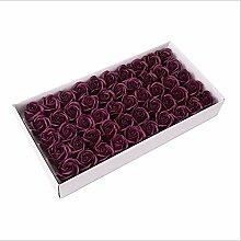 SMIERHQL DREI Schichten von Seife Blume Rose Seife