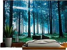 Smile YKK Landschaft Druck Wandteppich Zimmer Dekoration Wandbehang Turquoise Tapestry Tapisserie Bilder # A
