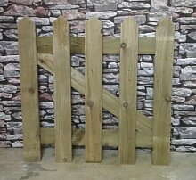Smileswoodcraft Gartentor aus Holz