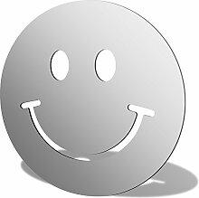 Smiley Acryl Spiegel, acryl, 500 x 500mm