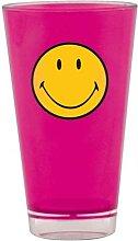 Smiley Becher fuchsia