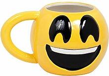 Smiley Emoji Becher Tasse Kaffeebecher Emoticon