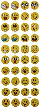 Smiley Face Sticker Aufkleber