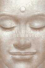 Smiling Buddha // Fototapete Xl 115 x 175 cm // Poster-Tapete // XXL Wandbild // Next! by Reinders #15983
