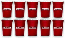Smirnoff Vodka Mehrweg Red Cup Becher 10 Stück