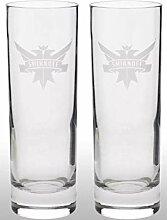 Smirnoff Wodka Longdrinkgläser Longdrink Glasset