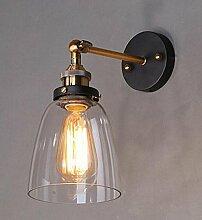 SMITHROAD Vintage Wandlampe Verstellbar Industrial