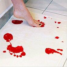 SMO Blutbad Badvorleger - Blut Badematte