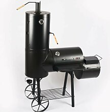 Smoker Grill Holz Holzkohle MS-300 Pro