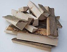 Smoker Holz, Anzündholz, Grillholz mit Rinde aus