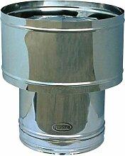 Smokestack Barrel für Edelstahl Ofenrohr Piemme