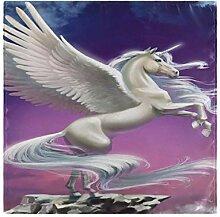 Smooth Fly Horse Einhorn Tischdecke Servietten