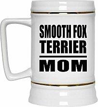 Smooth Fox Terrier Mom - Beer Stein Bierkrug