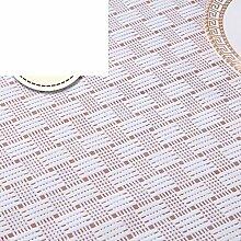 Smooth,PVC Tischdecke/Wasserdicht,Öl-beweis,Wärmedämmung,Einweg,Pastorale Kunststoff,Tischtuch/Länglichen Tisch Tuchgewebe-B 100*170cm(39x67inch)