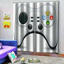 SMXFFF 3D Wärmedämmende Vorhänge Gamepad